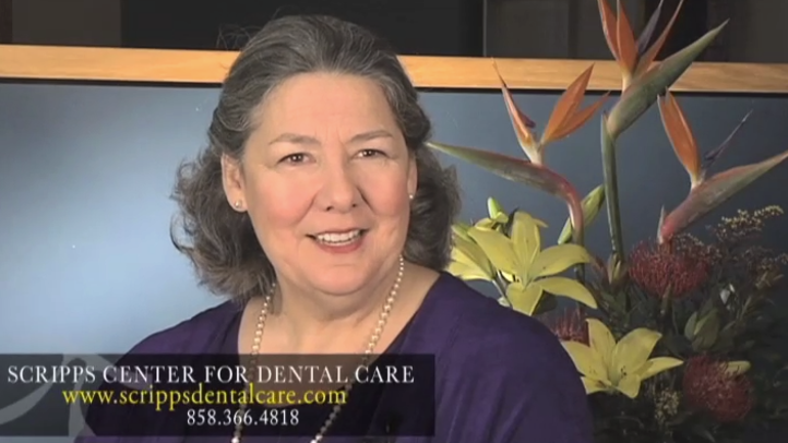 San Diego resident, Darlene appreciates the convenience of our La Jolla multi-specialists dental office. While visiting only one office, Darlene can have all of her dental treatments, from gum treatment to orthodontics, done right her at our San Diego office.