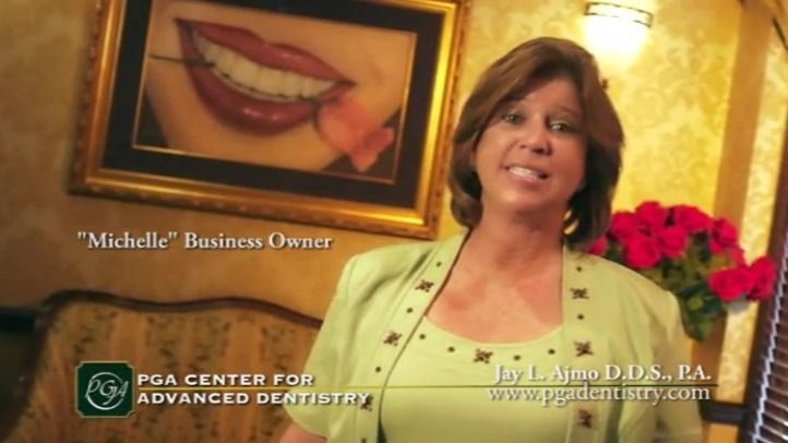 Michelle is one of our patients who underwent sedation dentistry at our Palm Beach Gardens practice.