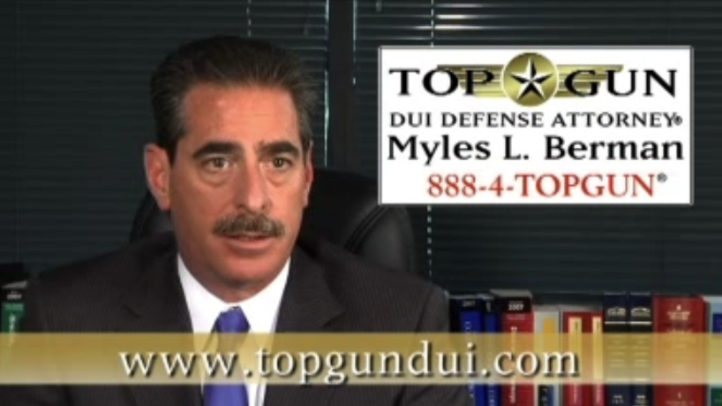 The DUI Myth is that just because somebody is arrested for a DUI, they must be guilty. However, Top Gun DUI Defense Attorney® Myles L. Berman® wants you to know that being arrested for a DUI does not make you guilty.