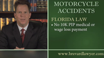 Motorcycle Accidents - Melbourne, Titusville and Cocoa