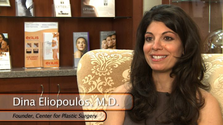 Board certified in plastic surgery, Dr. Dina Eliopoulos was pleased to be able to establish her practice in her own hometown in 2000. She loves her work, finding it uplifting to help local patients achieve their cosmetic goals. She especially enjoys seeing the positive impact on their lives when patients are so pleased with their results. Dr. Eliopoulos appreciates her staff, who she says work great as a team, putting patients at ease and remaining attentive to their needs every step of the way.