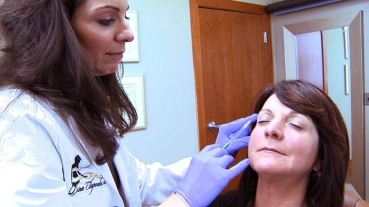 BOTOX® is an extremely popular and very effective cosmetic treatment. It is a purified protein that works to temporarily relax facial muscles so they don't contract strongly and accentuate deep expression lines. BOTOX® is safe, and Dr. Eliopoulos assures patients they will not end up with a mask-like expression, just a more refreshed look. Injectible fillers are also effective for filling in volume loss and softening wrinkles and folds. Some fillers are best for volumizing and others work on fine lines. A combination of fillers can be used for optimal results.